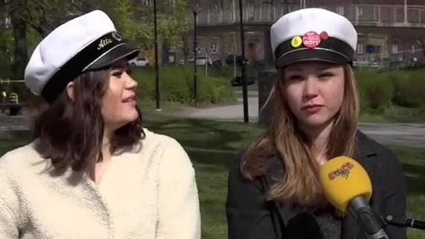"""Studenterna om inställda firandet: """"Jätteledsen över det här"""""""