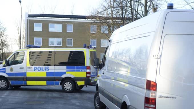 Ett misstänkt föremål har hittats i Stadsdelen Högaholm i Malmö. Foto: Fritz Schibli