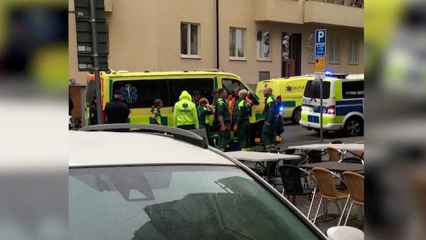 Grovt våldsbrott i Stockholm – en person gripen