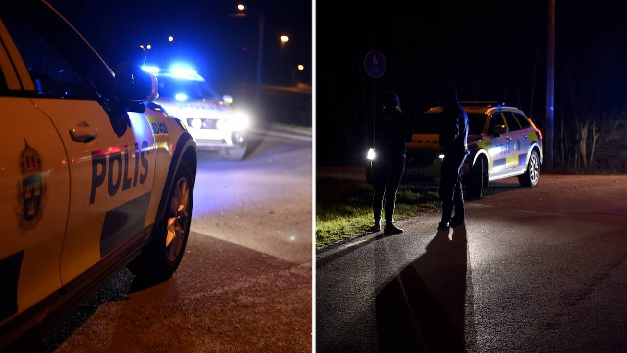 Polis hotad – nära anhörig attackerad