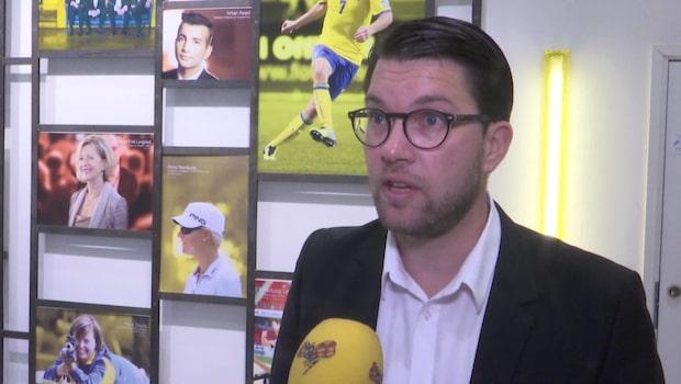 "Åkesson om kritiserat Trump-beslut: ""Fullt legitimt"""