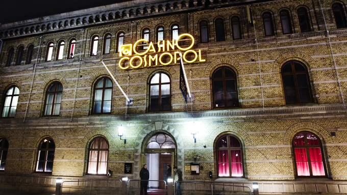 Köksdelen på Casino Cosmopol har utrymts på fredagskvällen. Foto: WIRIDEN JAN