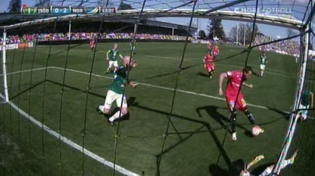 Kujovic petar in 2-0 för Norrköping