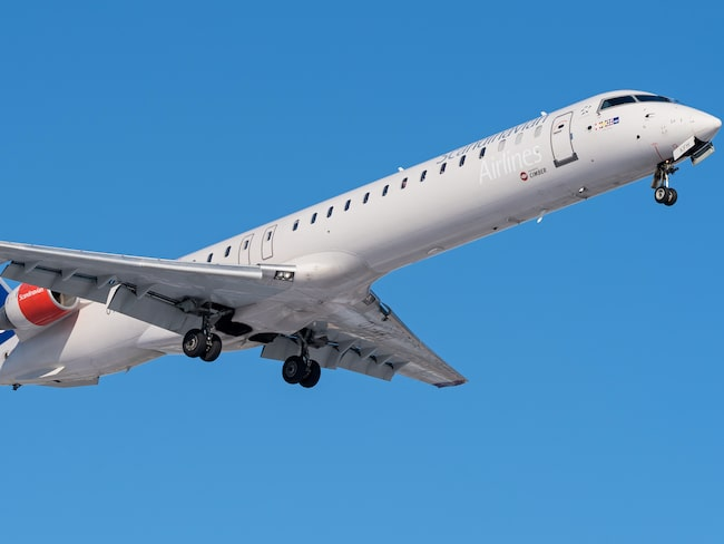 Flygplan av typen CRJ-900 kommer att trafikera sträckan Stockholm–Luxemburg.