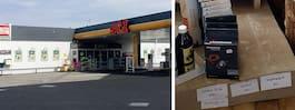 Ilskan efter fyndet på bensinmacken
