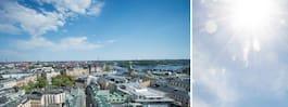 """Nu är det meteorologisk """"sommar"""" i Stockholm"""