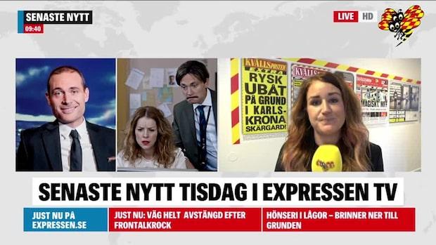 Här morgonens nyheter från Sydsverige