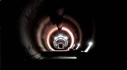 DIREKTSÄNDS. Du kan följa tunnelborren Åsas genombrott på www.trafikverket.se/hallandsas. Foto: Peter Kroon
