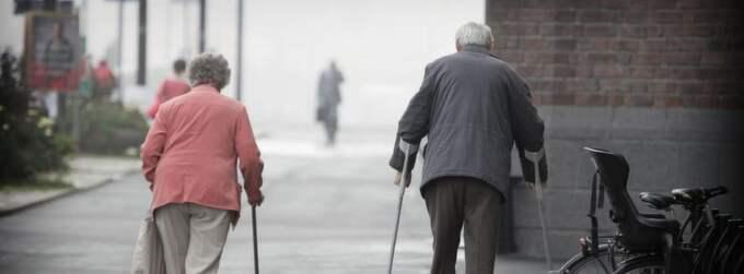 Hälften av alla svenska kvinnor kommer att få klara sig på mellan 4 000 till 8 000 kronor per månad efter skatt som pensionärer. Foto: Mikael Sjöberg