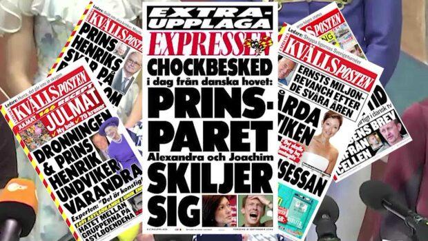 Kriserna i drottning Margrethes Danmark