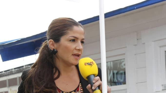 Gulan Avci, ordförande för Liberala kvinnor. Foto: Martina Huber