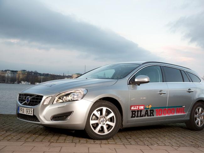 Första långtestbilen: Volvo V60.