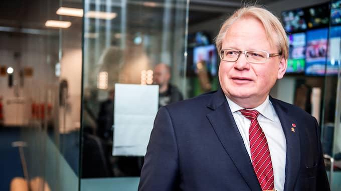 Försvarsminister Peter Hultqvist. Foto: ANNA-KARIN NILSSON / ANNA-KARIN NILSSON EXPRESSEN