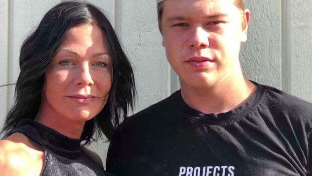 Oskar, 18, hängdes ut på nätet som mördare