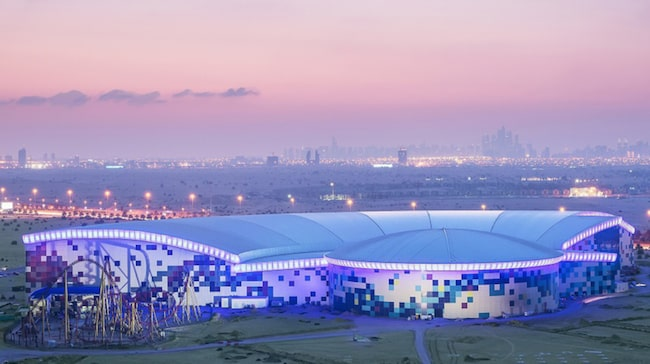 IMG Worlds Of Adventure öppnade i Dubai den 31 augusti.