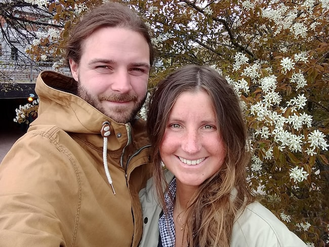 Caroline och Emanuel Saxe var nära att buda på en villa när de tänkte om.