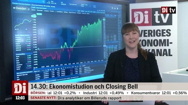 Nyheter 12.00: Byggmax vänder upp efter rapport