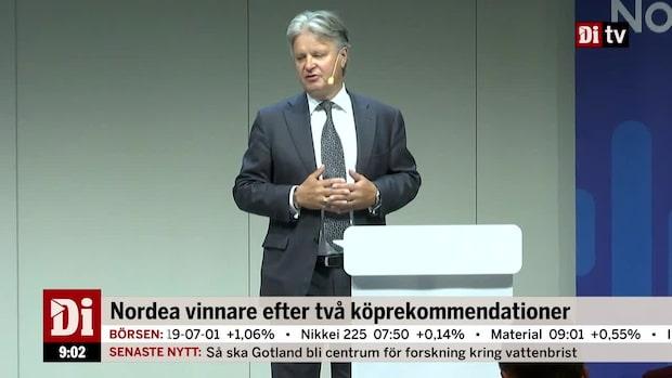 """Wendel om banksektorn: """"Varit fat cats för länge"""""""