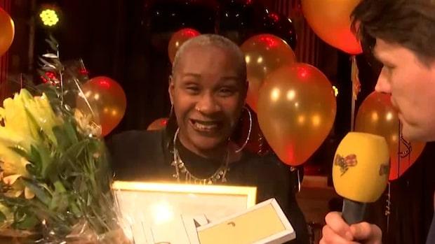 Josette Bushell-Mingo tilldelades Expressens teaterpris