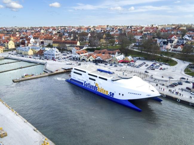För en månad sedan, den 28 april, gick den första turen med uppstickaren Gotlandsbåten från Nynäshamn till Visby.