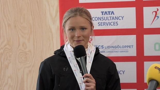 Frida Karlsson springer ny distans på Lidingöloppet