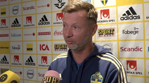 Förbundskapten Peter Gerhardsson om startelvan
