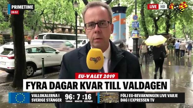 Expressens Mats Larsson på plats i Budapest