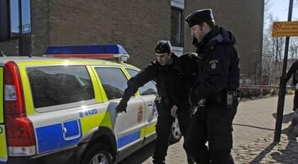 23-åringen greps i fredags, misstänkt för parkeringsmordet på Inger, 78. Foto: Christer Järeslätt