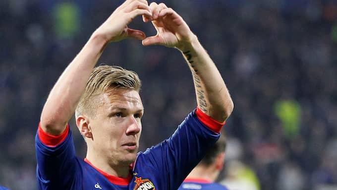 Pontus Wernbloom har gjort sitt i CSKA Moskva. Foto: REUTERS / BILDBYRÅN