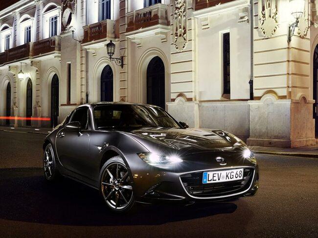 2019 års modell av Mazda MX-5 Miata...