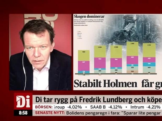 """Di:s analytiker om Holmen: """"Skogen har fått en ny renässans på börsen"""""""
