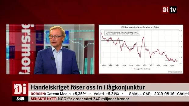 """Malmqvist om marknadsläget: """"IT-bubbla på räntemarknaden"""""""
