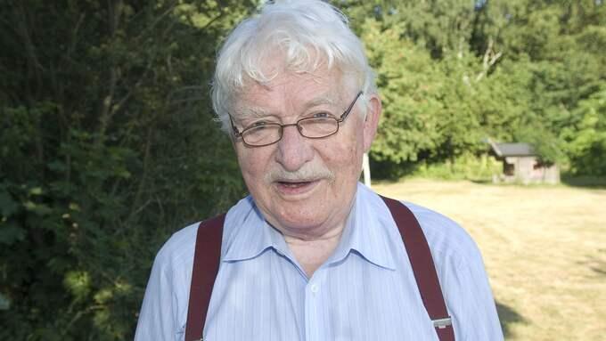 Hasse Alfredson blev 86 år gammal. Foto: CHRISTER JÄRESLÄTT