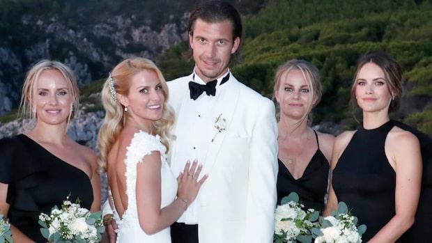 Prinsparet på drömbröllop –missade Sverigemiddagen