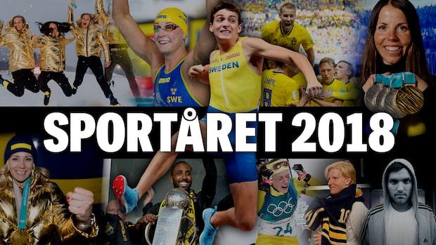 Sportkrönika 2018: Alla höjdpunkter