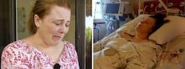 Maria, 44, skulle ta ett bad – sen blev hon förlamad