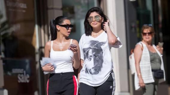 Systrarna är identiska Foto: Instagram