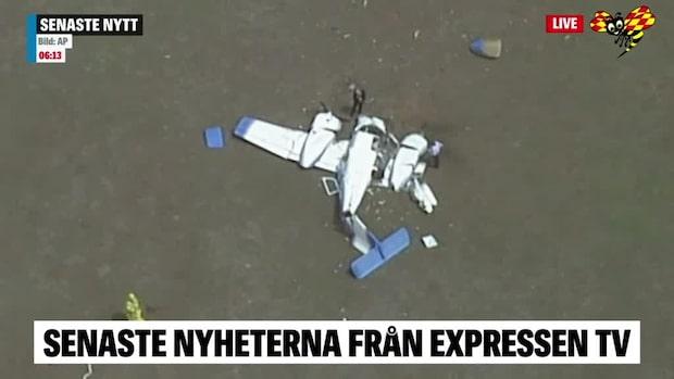Fyra döda i flygkrasch i Australien