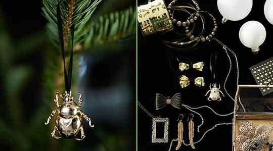 Julpyssel u2013 gör julgranspynt av gamla smycken Leva& bo
