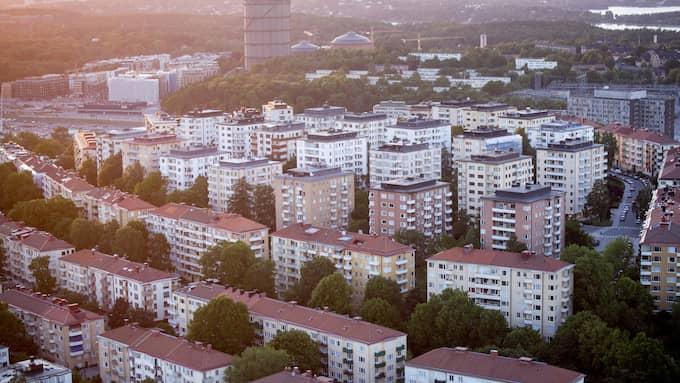 """När Torbjörn hörde """"Hesa Fredrik"""" ljuda över Stockholm på söndagskvällen var han snabbt förberedd. Foto: CHRISTINE OLSSON/TT / TT NYHETSBYRÅN"""