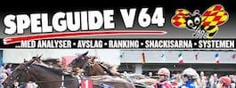 V64 och DD: Formstark  skräll inleder omgången