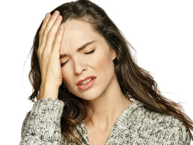 span Huvudvärk kan vara ett tecken på järnbrist. 57dcc138c30e2