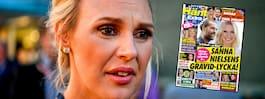 Sanna Nielsens ilska efter  påståendet om graviditeten