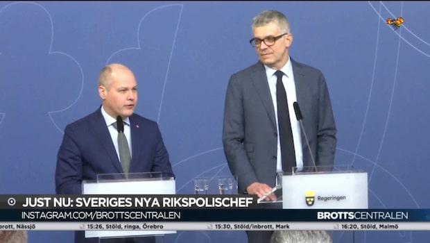 Det här är nye rikspolischefen Anders Thornberg
