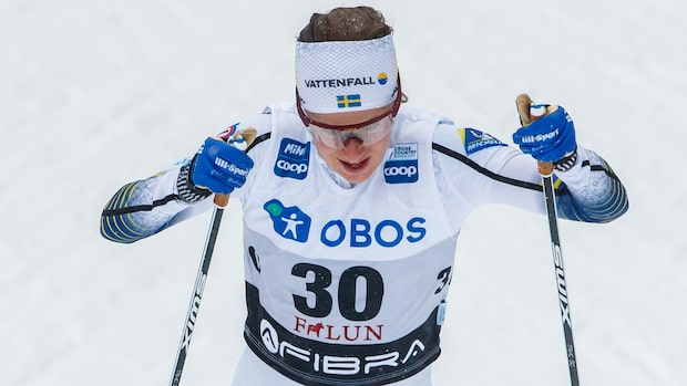 Ebba Andersson tvåa i Falun