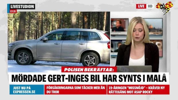 Polisen bekräftar: Det är samma bil