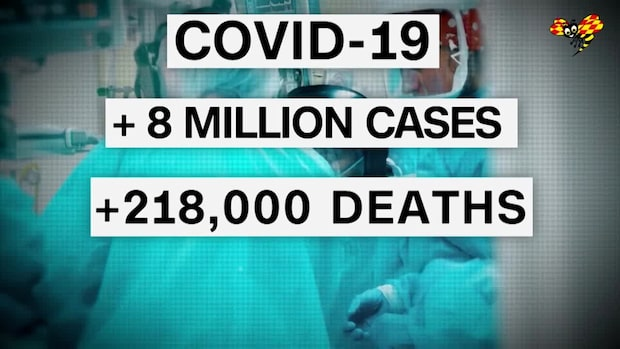 8 miljoner coronasmittade i USA
