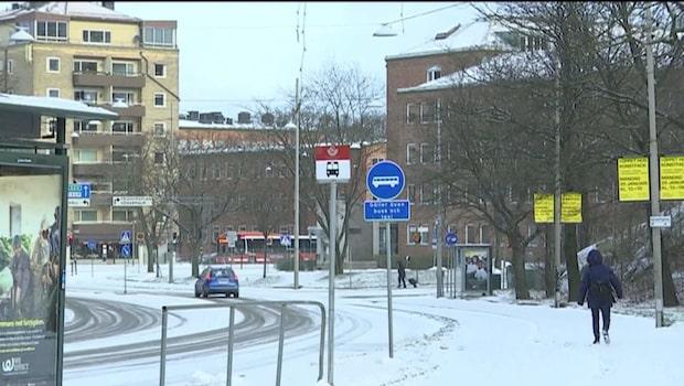 """Trafikverket inför ovädret: """"Extra resurser förberedda"""""""