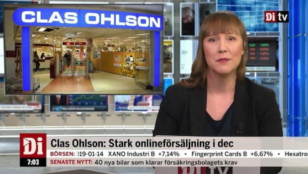 Morgonkoll: Clas Ohlson ökar kraftigt online