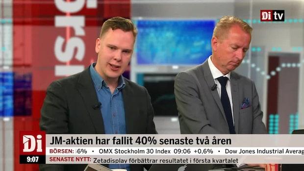 "Wendel om JM: ""Nordens mest blankade aktie"""